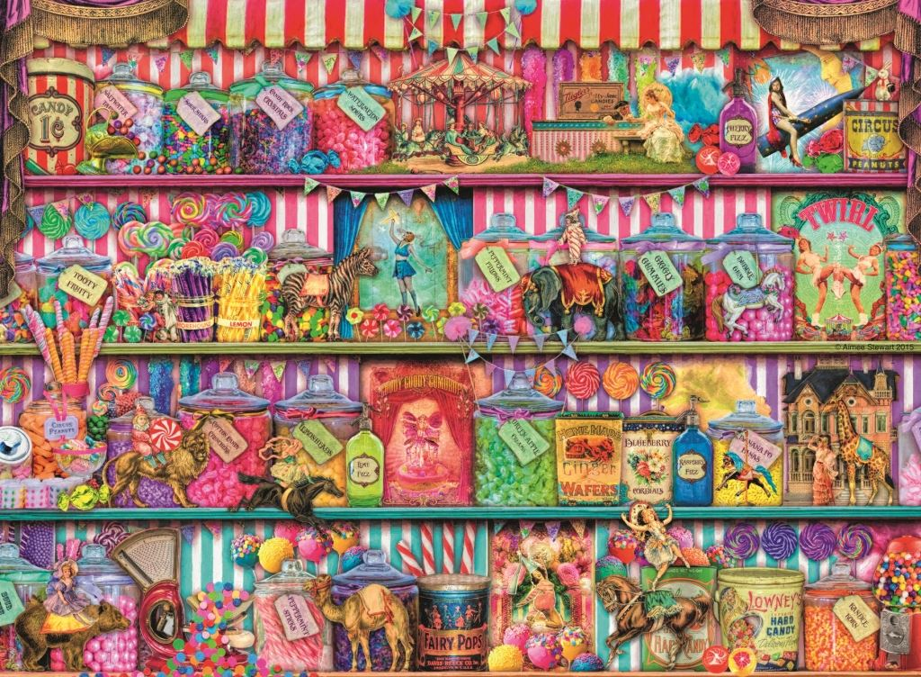 The Sweet Shop 500 Piece Jigsaw Puzzle
