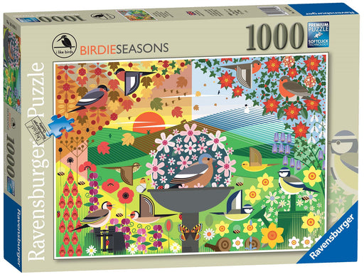 Ravensburger I Like Birds - Birdie Seasons, 1000 Piece Jigsaw Puzzle