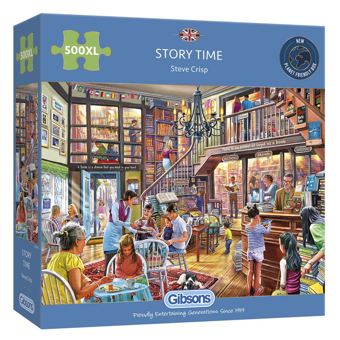 Story Time 500XL Piece Jigsaw Puzzle