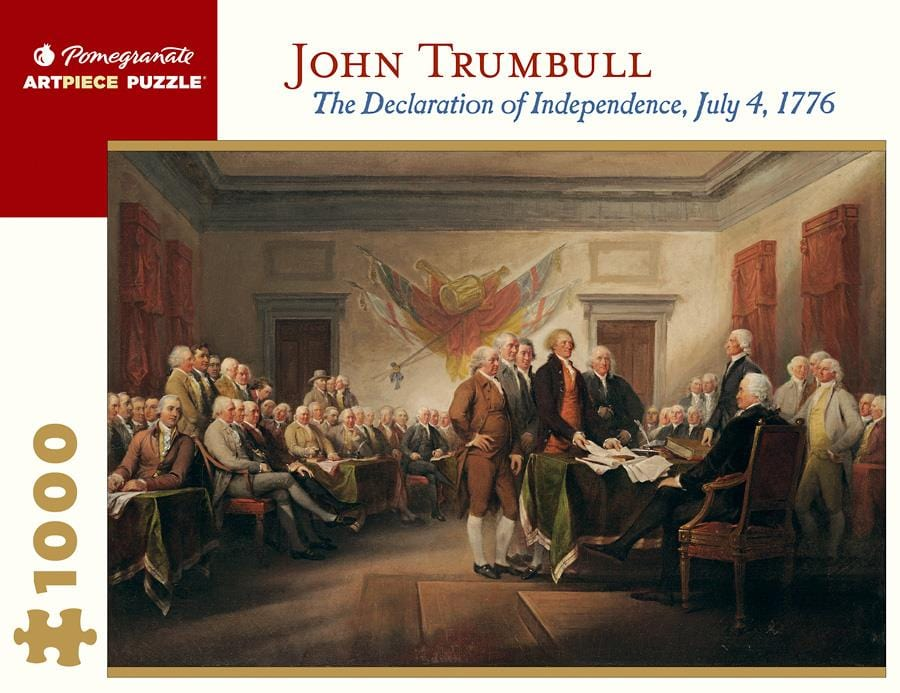 John Trumbull: The Declaration of Independence, July 4, 1776 1000 Piece Jigsaw