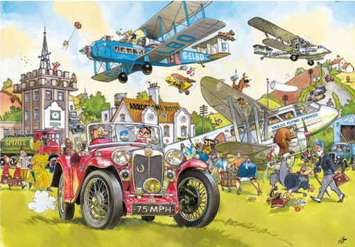 Wasgij Retro 5 Time Travel! 1000 Piece Jigsaw Puzzle