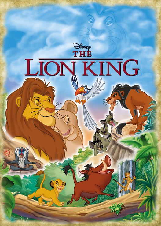 The Lion King Movie Poster 1000 Piece Jigsaw Puzzle