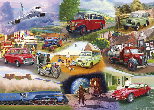 Gibsons Iconic Engines 1000 piece Jigsaw Puzzle