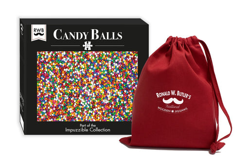 Candy Balls - Impuzzible - 300 Piece Wooden Jigsaw Puzzle