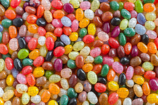 Candy Beans - Impuzzible - 300 Piece Wooden Jigsaw Puzzle