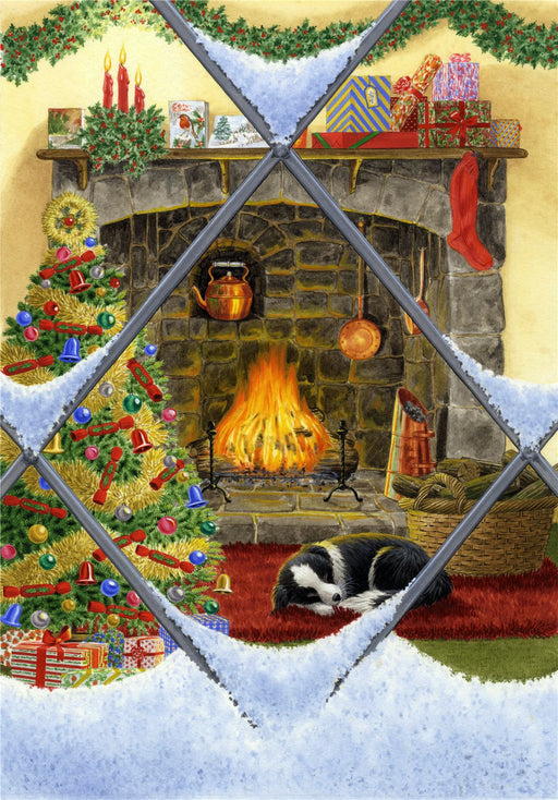 Puppy Dreams at Christmas Jigsaw Puzzle
