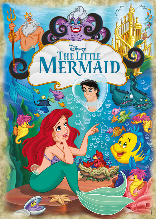 The Little Mermaid Movie Poster 1000 Piece Jigsaw Puzzle