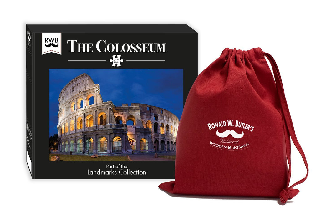 The Colosseum Jigsaw Puzzle 300 Piece Wooden Jigsaw Puzzle