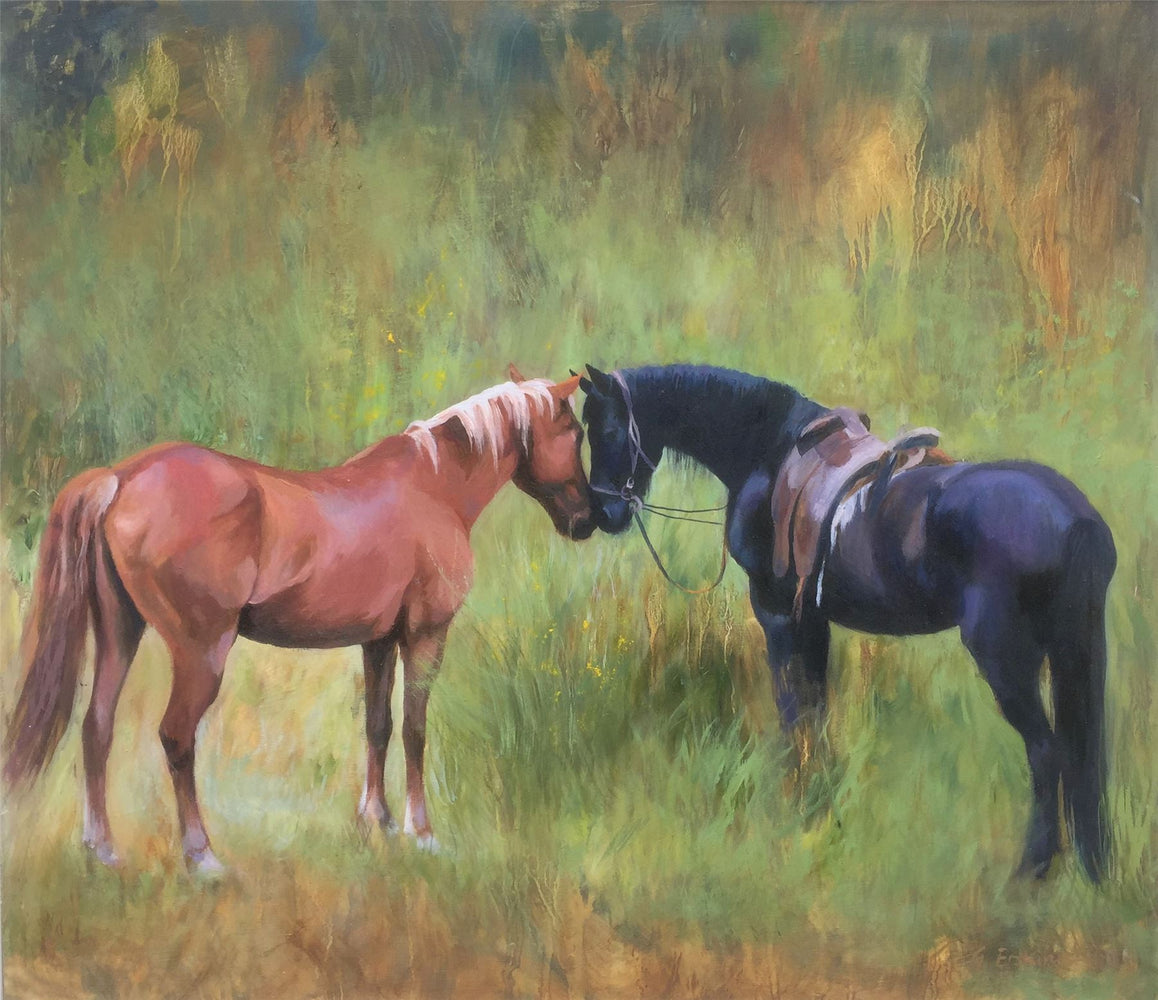 The Meeting - Gill Erskine-Hill Jigsaw Puzzle