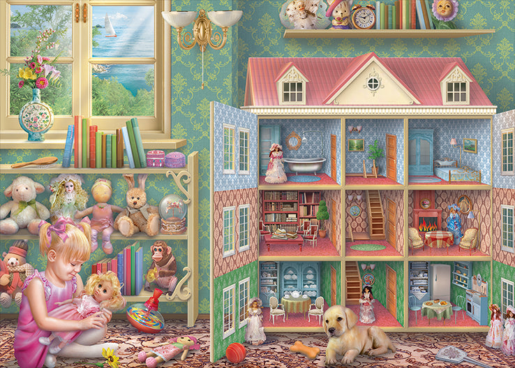 The Doll House 1000 Piece Jigsaw Puzzle