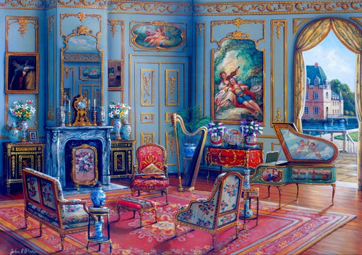 The Music Room 1000 Piece Jigsaw Puzzle