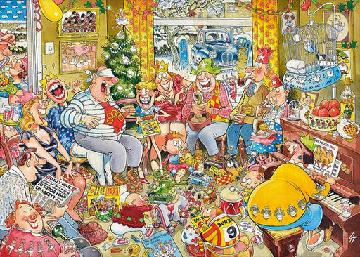 Graham Thompson - 12 Days of Christmas 1000 Piece Jigsaw Puzzle