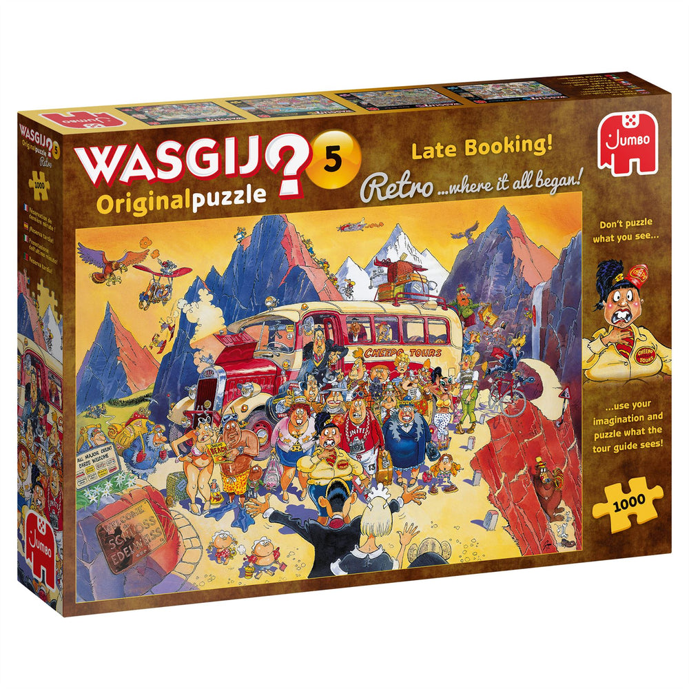 Wasgij Retro 5 Late Booking! 1000 Piece Jigsaw Puzzle 2
