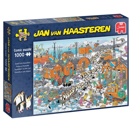 Jan van Haasteren South Pole Expedition 1000 Piece Jigsaw Puzzle box 2