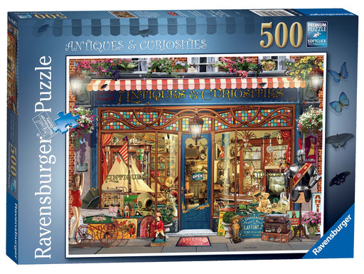 Ravensburger Antiques & Curiosities, 500 Piece Jigsaw Puzzle 1