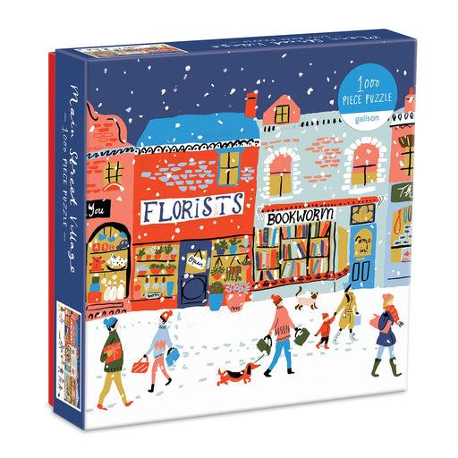 Main Street Village 1000 Piece Jigsaw Puzzle box