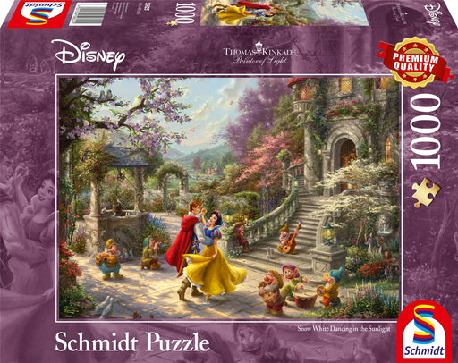 Thomas Kinkade - Disney, Snow White - Dancing with the Prince 1000 Pieces