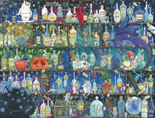 Poisons and Potions 2000 Piece Jigsaw Puzzle