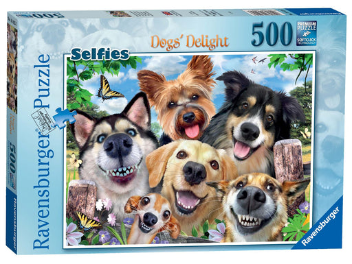 Ravensburger Selfies Dogs' Delight, 500 Piece Jigsaw Puzzle 1
