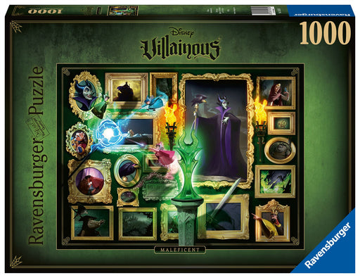 Ravensburger Villainous Maleficent, 1000 Piece Jigsaw Puzzle
