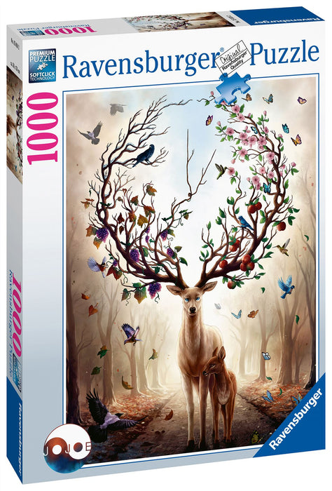 Ravensburger Magical Deer, 1000 Piece Jigsaw Puzzle