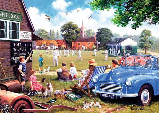 Leisure Days No 4 The Scoreboard End, 1000 Piece Jigsaw