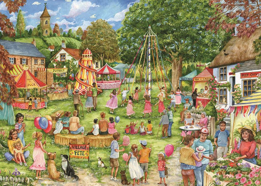 Village Fete 1000 Piece Jigsaw Puzzle