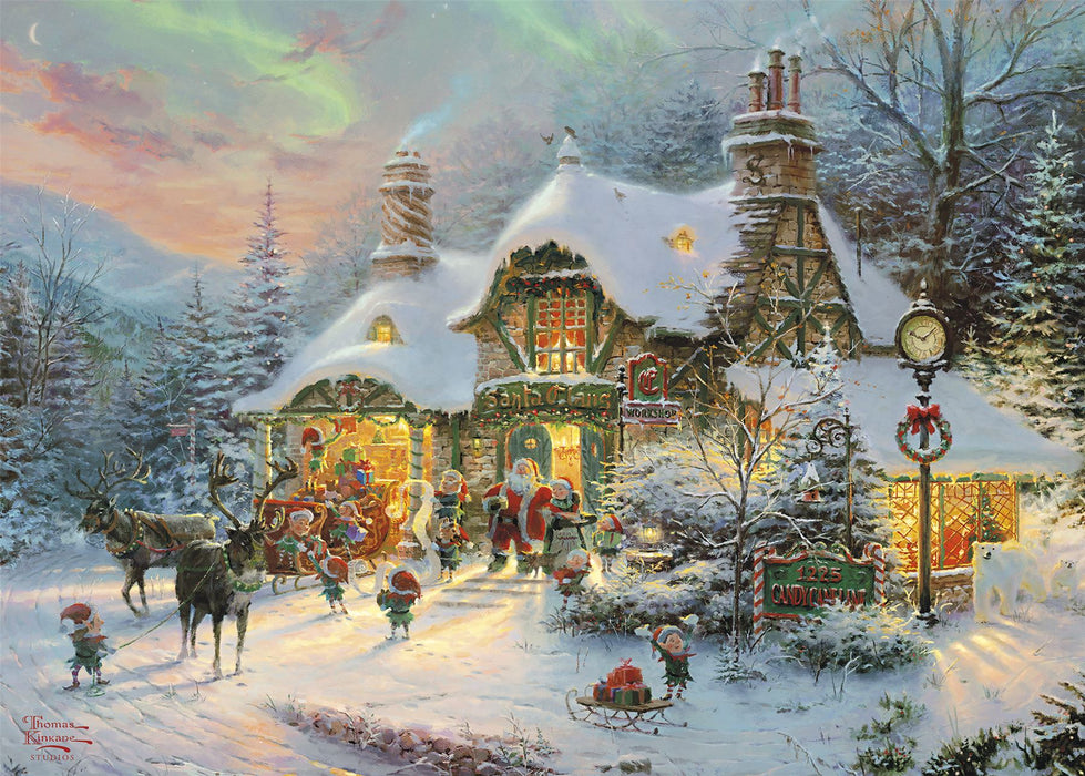 Gibsons Santa's Night Before Christmas 1000 piece Jigsaw Puzzle
