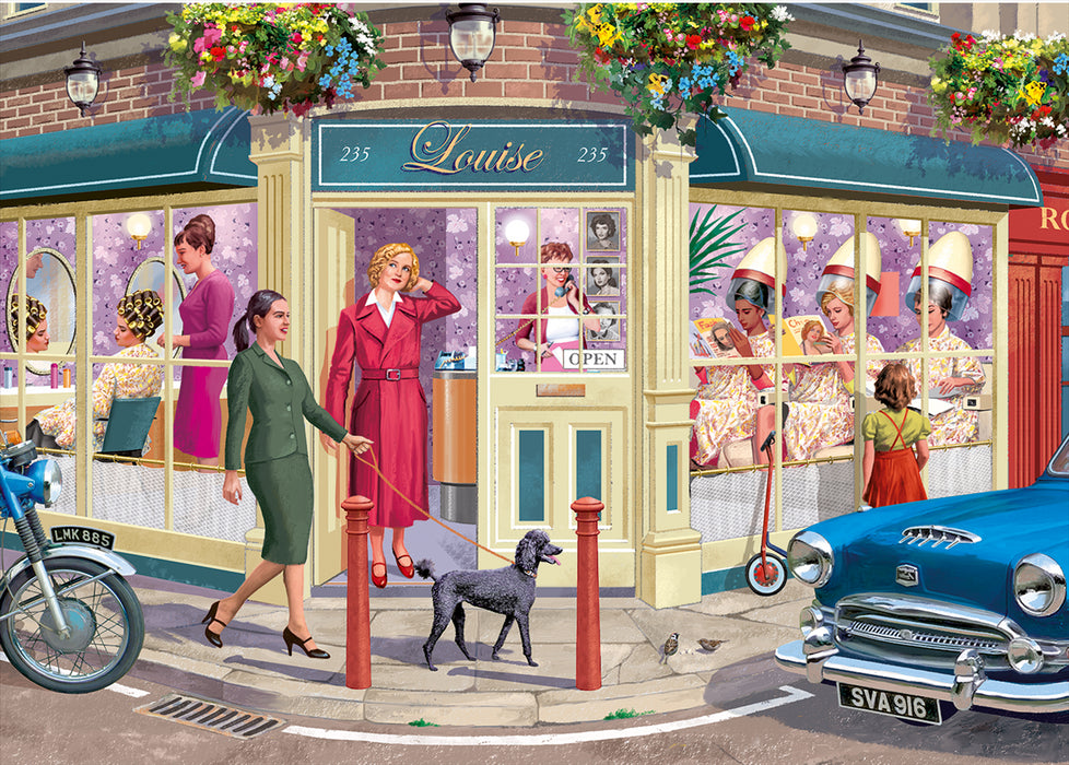 Falcon de luxe The Hairdressers 1000 Piece Jigsaw Puzzle