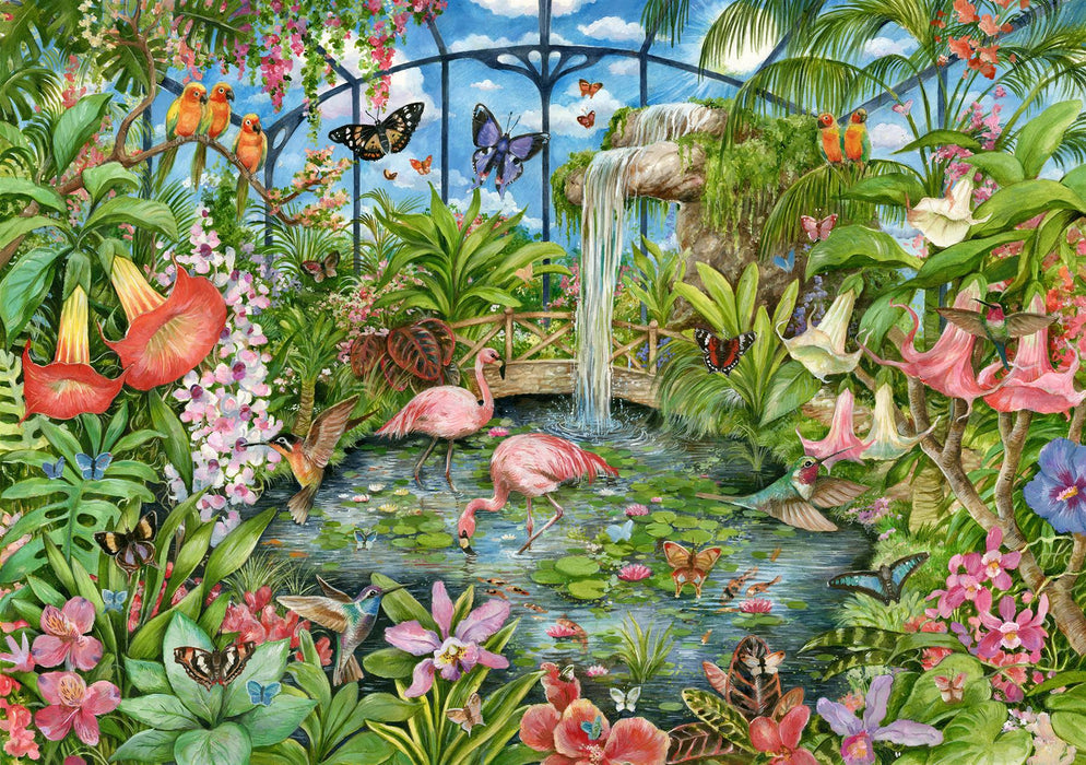 Falcon Tropical conservatory 1000 Piece Jigsaw Puzzle