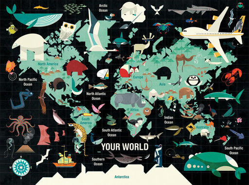 Your World 1000 Piece Family Jigsaw Puzzle