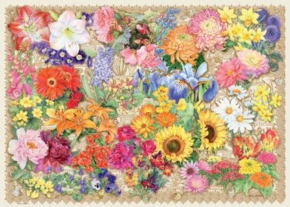 Blooming Beautiful 1000 Piece Jigsaw
