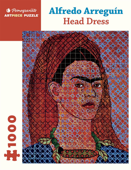 Alfredo Arreguín: Head Dress 1000 Piece Jigsaw