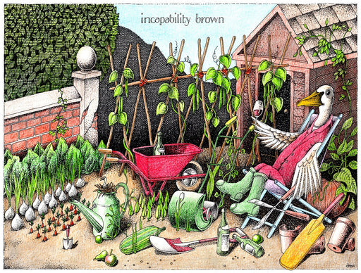 Incapability Brown - Simon Drew - 1000 or 500 piece jigsaw puzzle