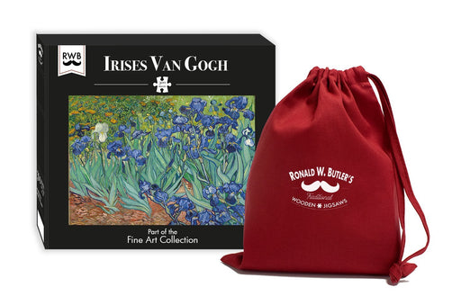 Irises by Vincent van Gogh 300 Piece Wooden Jigsaw Puzzle