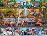 Jigsaw Puzzle - Amazing Animal Kingdom 2000 Piece Jigsaw Puzzle