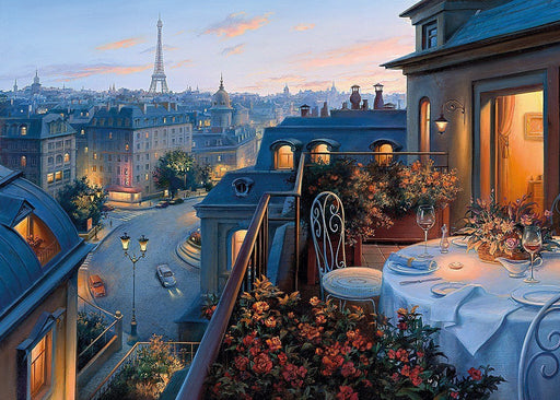 An Evening In Paris, 1000 Piece Jigsaw Puzzle - All Jigsaw Puzzles UK