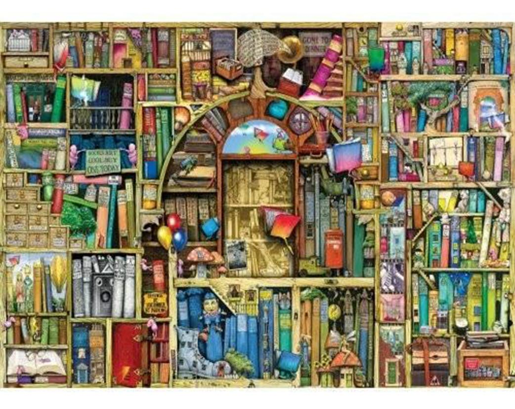 Bizarre Bookshop 2 - Colin Thompson Jigsaw Puzzle
