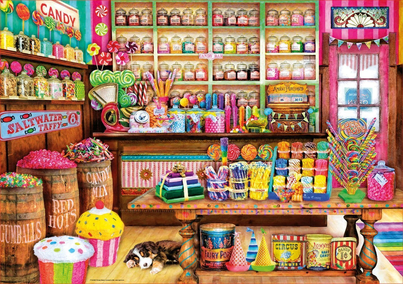 Jigsaw Puzzle - Candy Shop 1000 Piece Jigsaw Puzzle