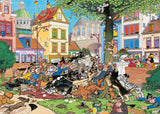 Jigsaw Puzzle - Get That Cat! - Jan Van Haasteren 1000 Piece Jigsaw Puzzle