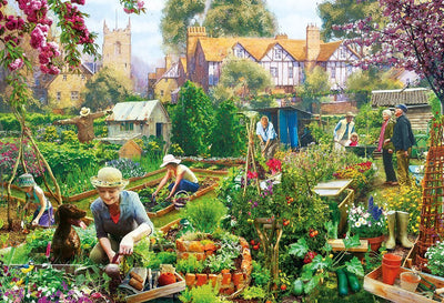 b105cb3cba5e Flowers and Gardens Jigsaw Puzzles - gibsons