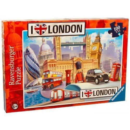 I Love London XXL 100 - Includes Fact Sheet Jigsaw Puzzle - All Jigsaw Puzzles UK