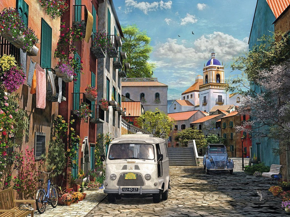 Jigsaw Puzzle - Idyllic South Of France 1500 Piece Jigsaw Puzzle