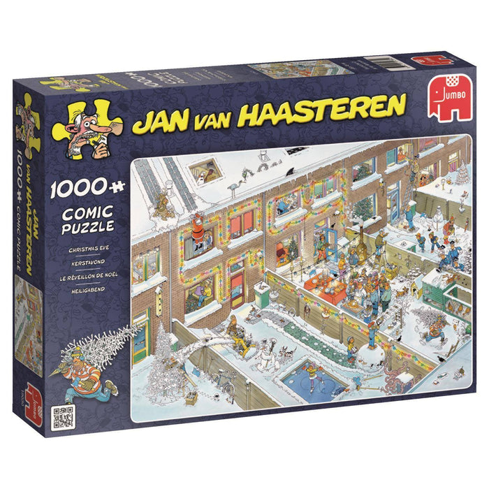 Jan van Haasteren - Christmas Eve 1000 Piece Jigsaw Puzzle - All Jigsaw Puzzles UK  - 2