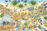 Jigsaw Puzzle - Jan Van Haasteren The Oasis 1500 Piece Jigsaw Puzzle