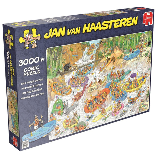 Jan van Haasteren Wild Water Rafting 3,000 Piece Jigsaw Puzzle - All Jigsaw Puzzles UK  - 2
