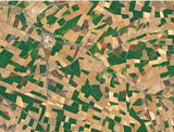 Patchwork Fields, Addis Ababa, Ethiopia 500 Piece Awesome Aerial Jigsaw Puzzle - All Jigsaw Puzzles UK  - 1
