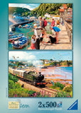 Jigsaw Puzzle - Picturesque Devon - 2 X 500 Piece Jigsaw Puzzles