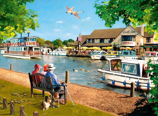 Jigsaw Puzzle - Picturesque Landscapes No.2 Norfolk - Cromer And Horning, 2 X 500 Piece Jigsaw Puzzle
