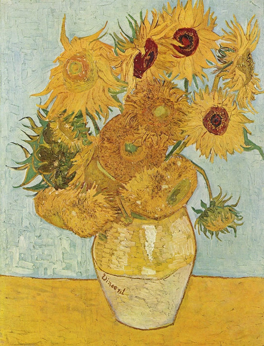 Jigsaw Puzzle - Sunflowers By Vincent Van Gogh Jigsaw Puzzle – 1000 Or 500 Pieces